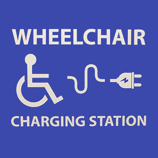 Hermiston Library - Wheelchair Charging Station Image